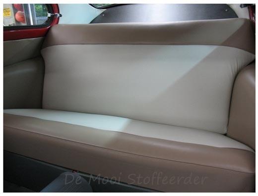 Herstofferen van autostoelen for Auto interieur bekleden